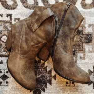 Cato Western Booties